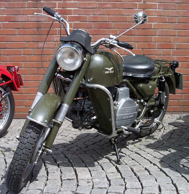 Moto Guzzi Falcone Tail Look