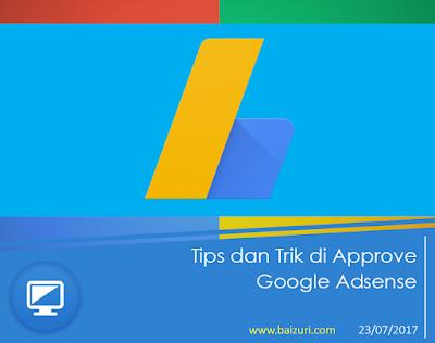 Tips dan Trik di Approve Google Adsense
