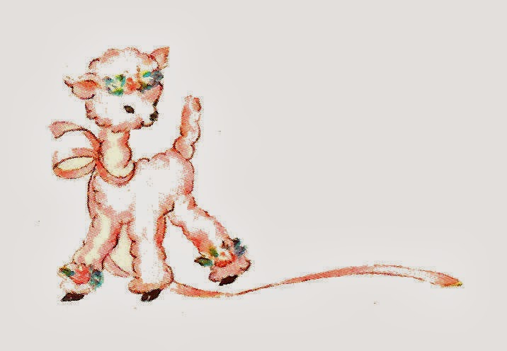 Antique Images Free Animal Clip Art 2 Adorable Lamb