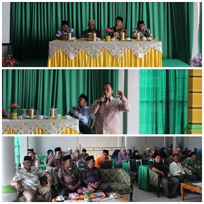 Kemenag Kota Tanjungbalai Adakan Pembinaan Pelayanan Assesment & Pengembangan Pegawai Tahun 2016