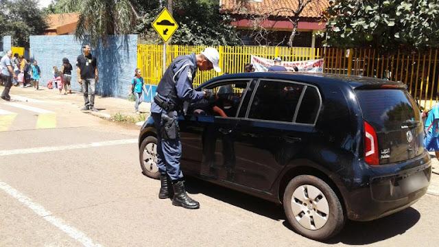 Guarda Civil Municipal de Campo Grande (MS) e Detran iniciam campanha de conscientização