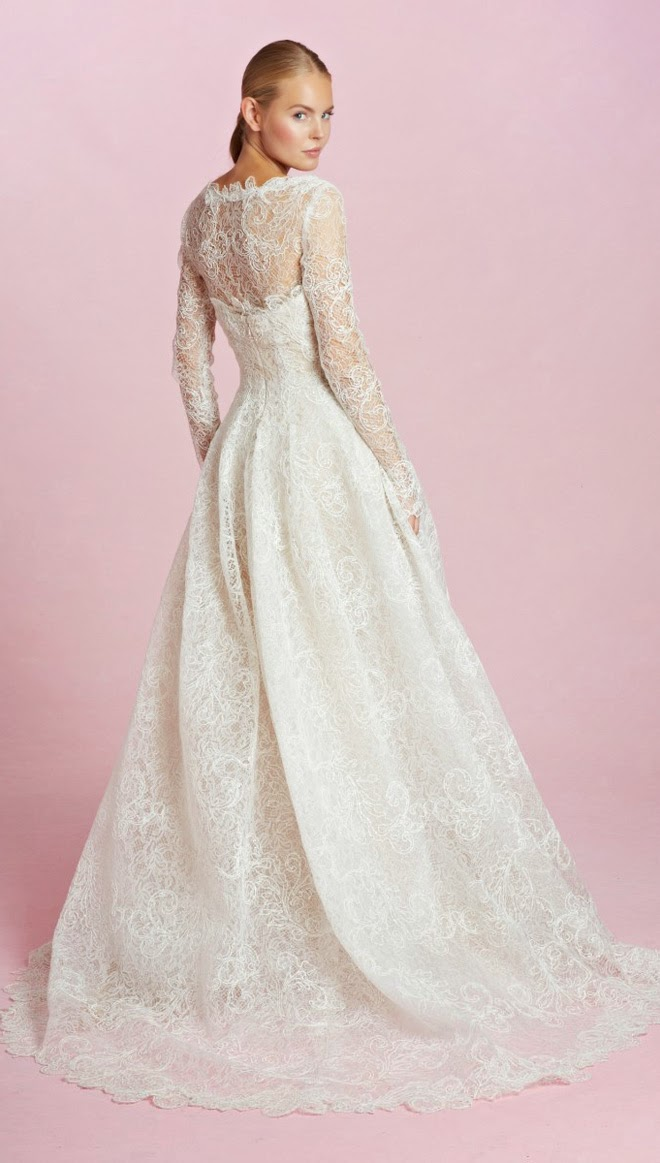Oscar de la renta bridal fall 2015 belle the magazine junglespirit Gallery