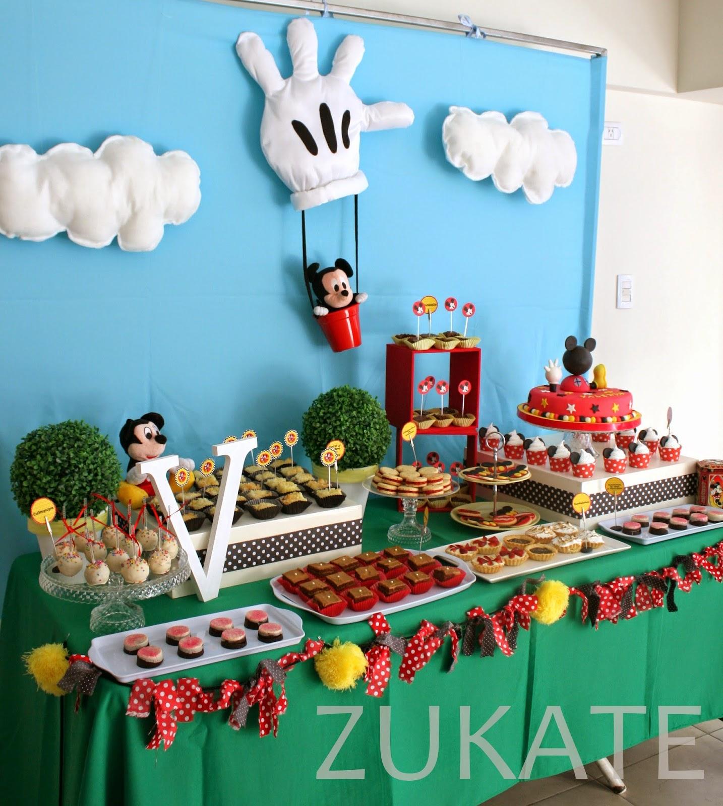 Fiesta de la casa de mickey mouse para valent n zukate - La casa decoracion ...