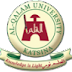 Al-Qualam University Part-Time Degree Admission Form - 2018/2019