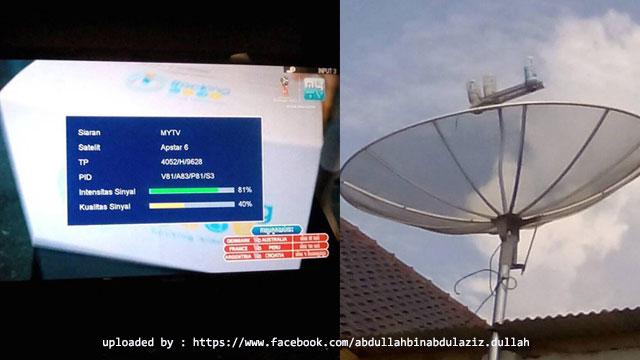 cara menggabungkan satelit palapa d, telkom 3s dengan apstar a6