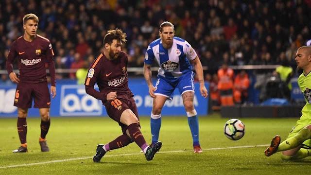 Hasil Liga Spanyol: Barcelona Juara, Deportivo Degradasi