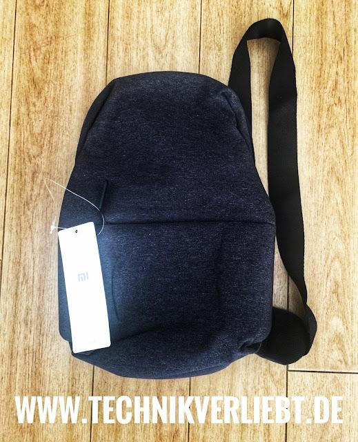 Technikverliebt - Lifestyle: Original Xiaomi Sling Bag - Deep Gray  *Mein Original Xiaomi Sling Bag - Deep Gray @ GearBest Shop