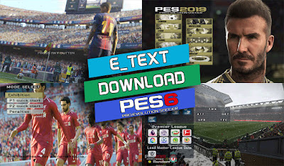 PES 6 Graphics Menu PES 2019 by Micano4u