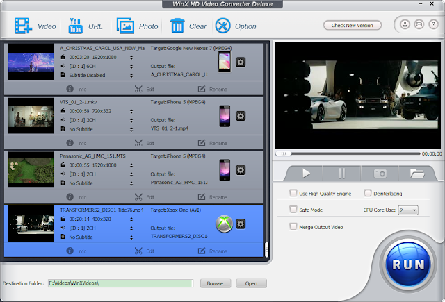 WinX HD Video Converter Deluxe FULL