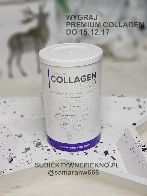 Świąteczne rozdanie - wygraj Premium Collagen 5000 o wartości 160zł. Konkurs na blogu Subiektywne Piękno
