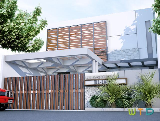 Desain Rumah Tinggal Tangerang
