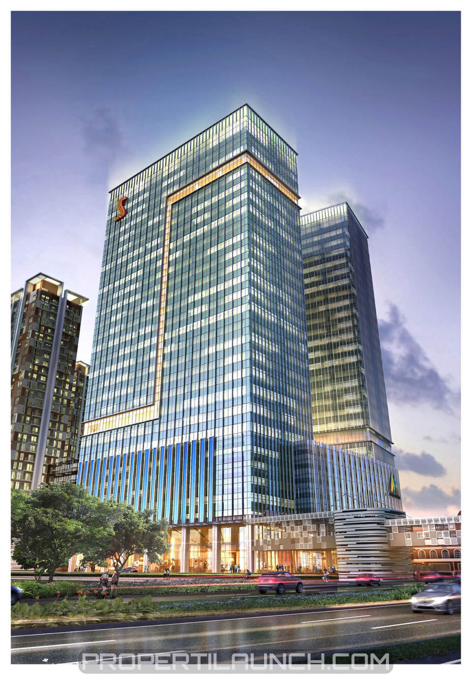 Serpong M-Town Office tower
