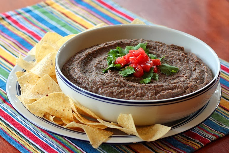 black bean dip chipotle