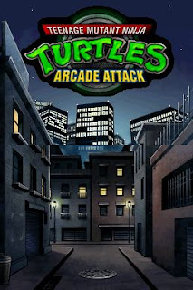 Teenage Mutant Ninja Turtles+arcade+game+portable+flyer