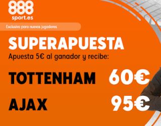 888sport superapuesta champions Tottenham vs Ajax 30 abril 2019