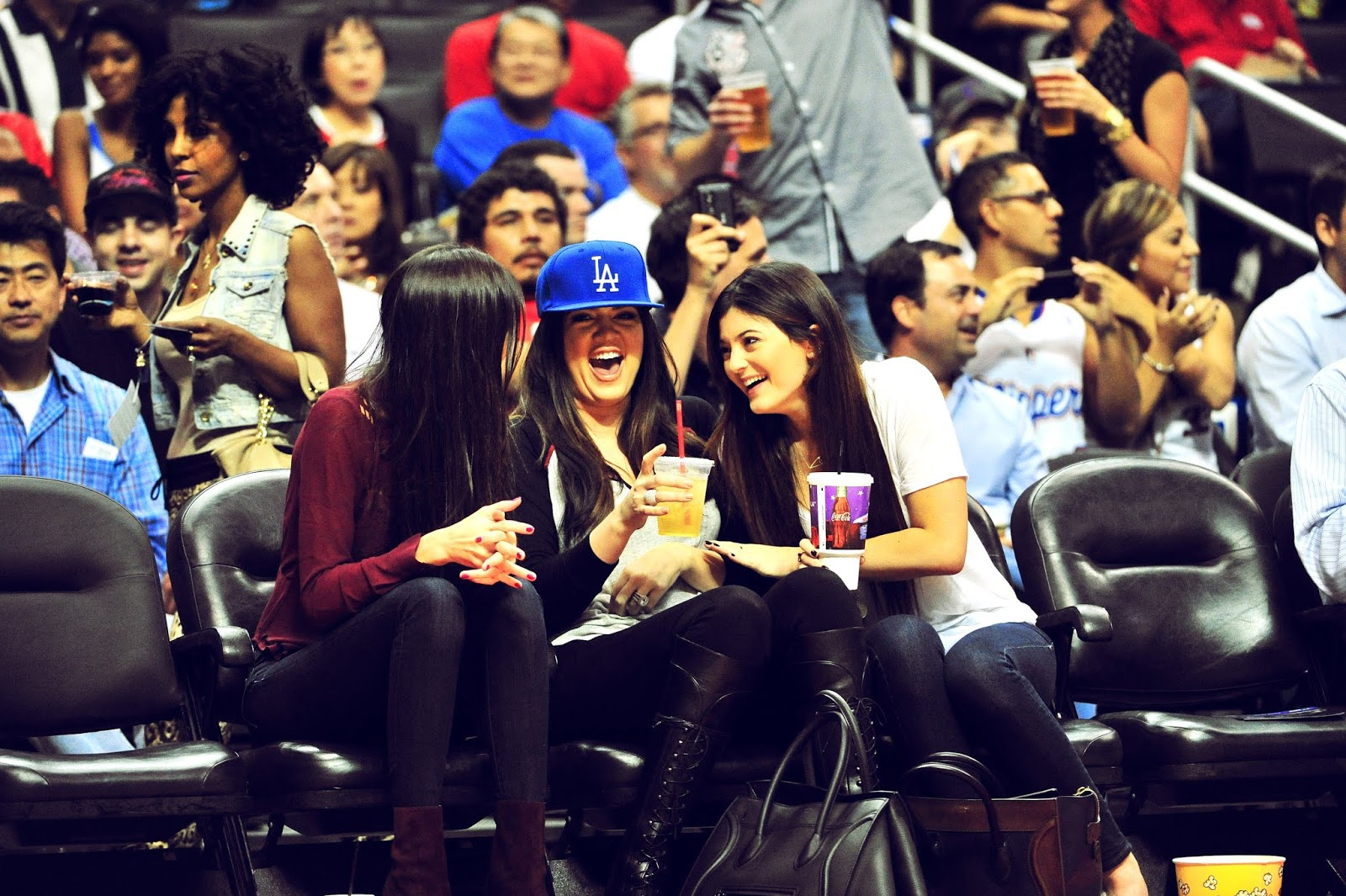 04 - Watching The Los Angeles Clippers Game on October 17, 2012