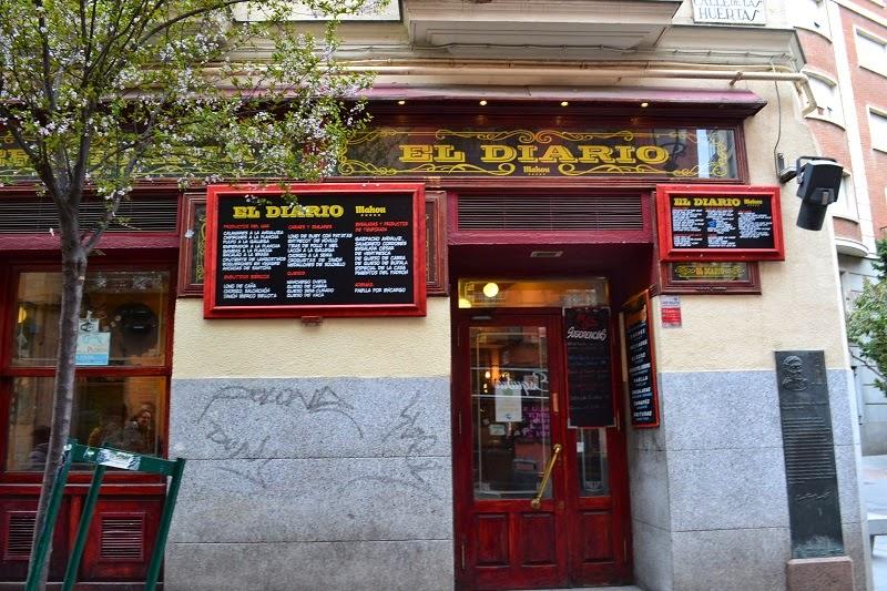 Madrid, espagne, Lavapies, El diario Huertas