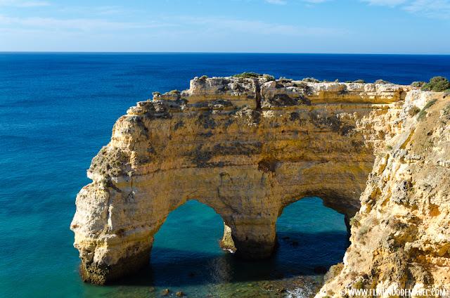 Las mejores playas del Algarve - Famoso arco de roca del Algarve