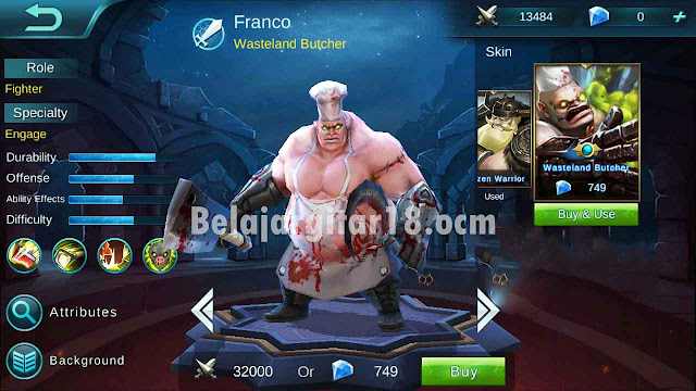 Franco Mobile legends