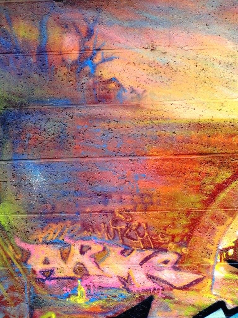 arme graffiti