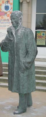 Ostend Statue King Baudouin Belgium