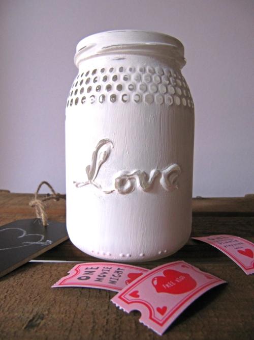 Tarro love San Valentin