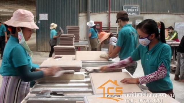 đồ gỗ thạch thất, nội thất chàng sơn thiết kế và thi công nội thất tại hà nội