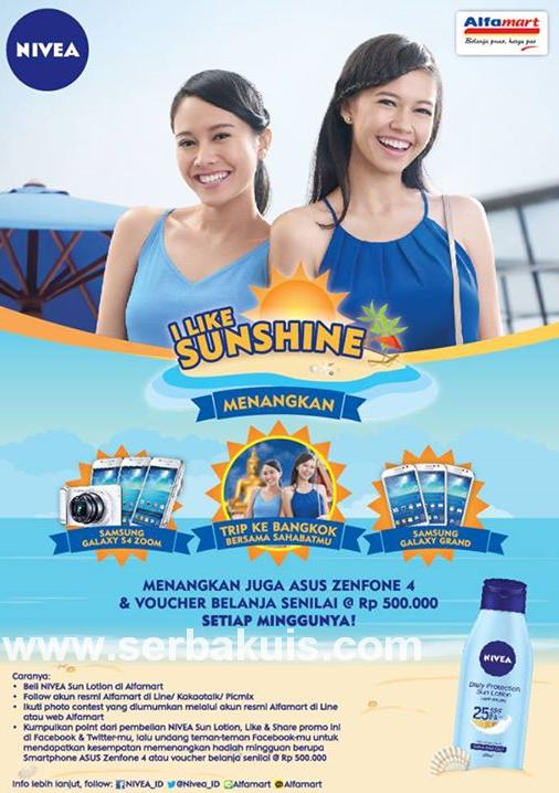 Kontes Foto I Like Sunshine Berhadiah SAMSUNG Galaxy S4 Zoom