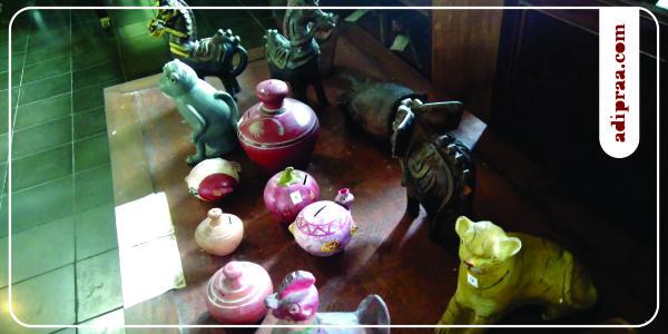 Koleksi Celengan Antik Museum Tembi Rumah Budaya | adipraa.com