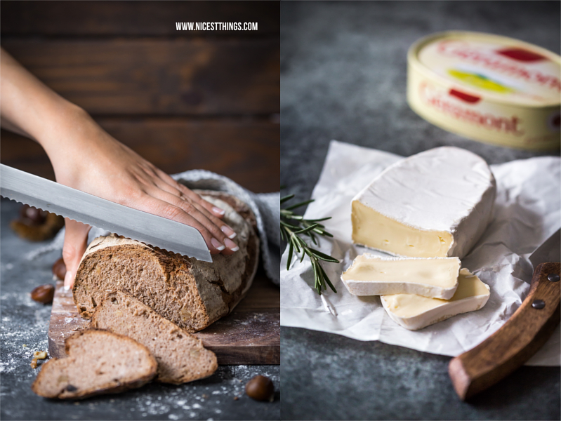 Brot mit Camembert Rezept