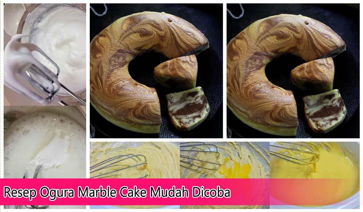 Resep Marble Cake Lembut