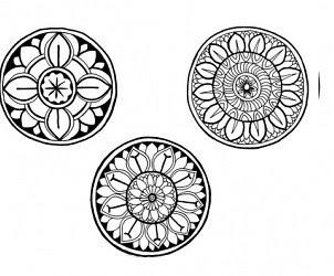 диск символ мехенди
