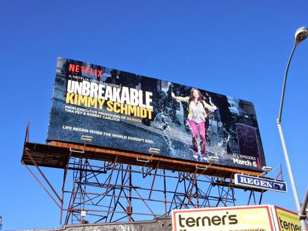 Unbreakable Kimmy Schmidt season 1 billboard