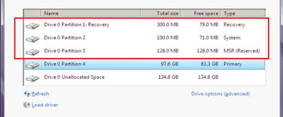 Mengatasi Windows Detected That The Efi System Partition Was Formatted as Ntfs Saat Install Windows 8