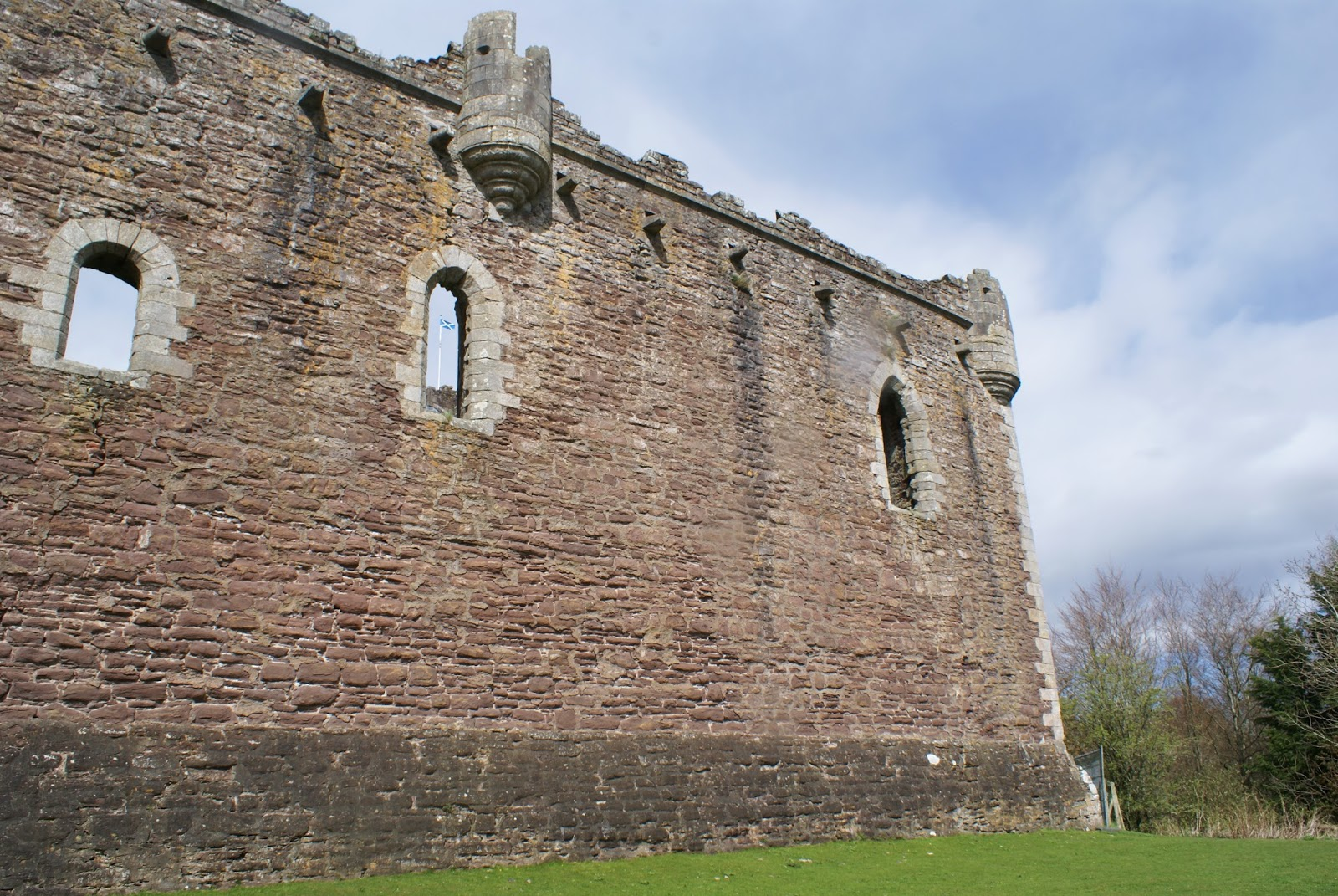 doune medieval castle scotland scottish uk stirlingshire