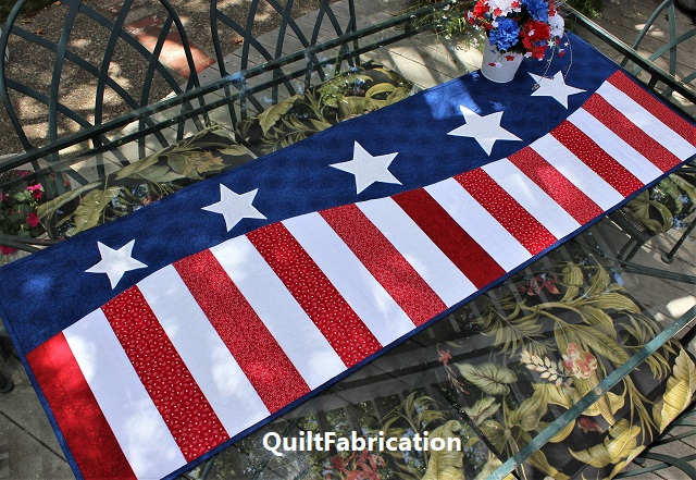 Patriotic Wave runner by QuiltFabrication
