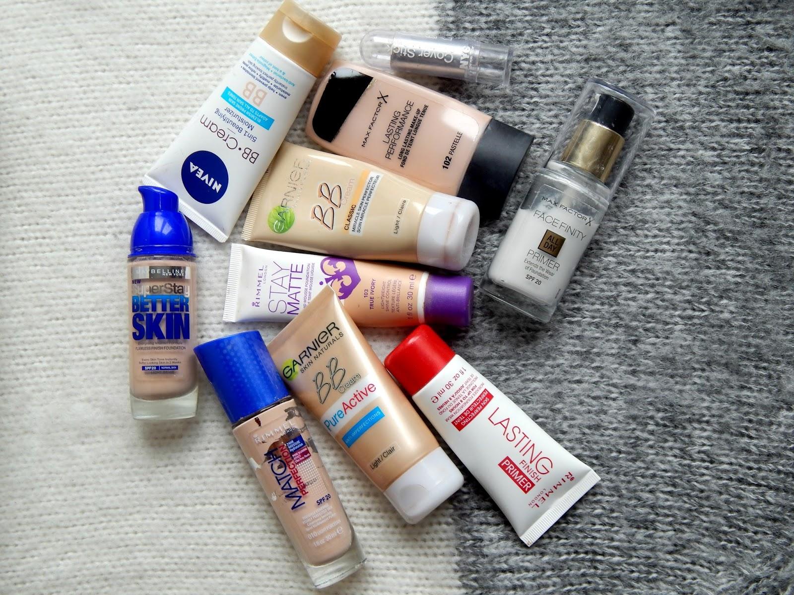 Nebezpečná kosmetika - makeupy Garnier, Nivea, Maybelline