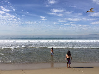 breather for the beach with kids at Redondo Beach