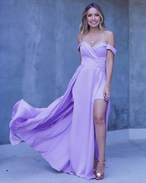 vestido lilas para madrinha