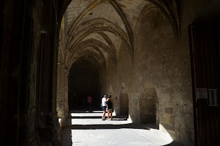 Claustre de la catedral de Narbona