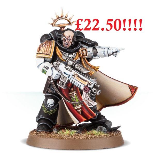 primaris captain price 40k
