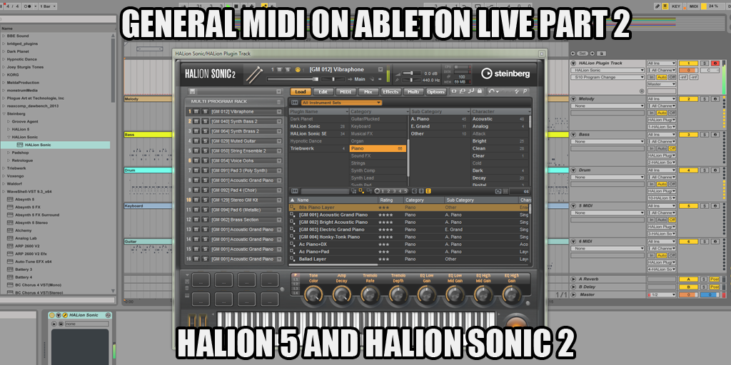 Ultimate Outsider: Playing General MIDI Files on Ableton