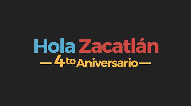 Hola Zacatlán, 4to aniversario.