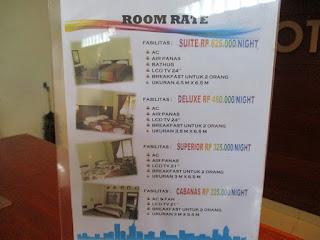 tarif hotel diafan