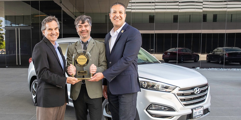 Hyundai named a Top Brand in J.D.Power's 2018 U.S. IQS