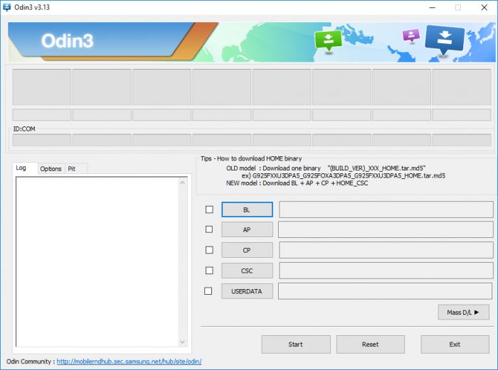 Download Odin 3.13.1 Untuk Android Oreo 8.0 Firmware