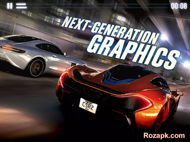 CSR Racing 2 v1.2.0 Mod Apk+Data Latest Version For Android