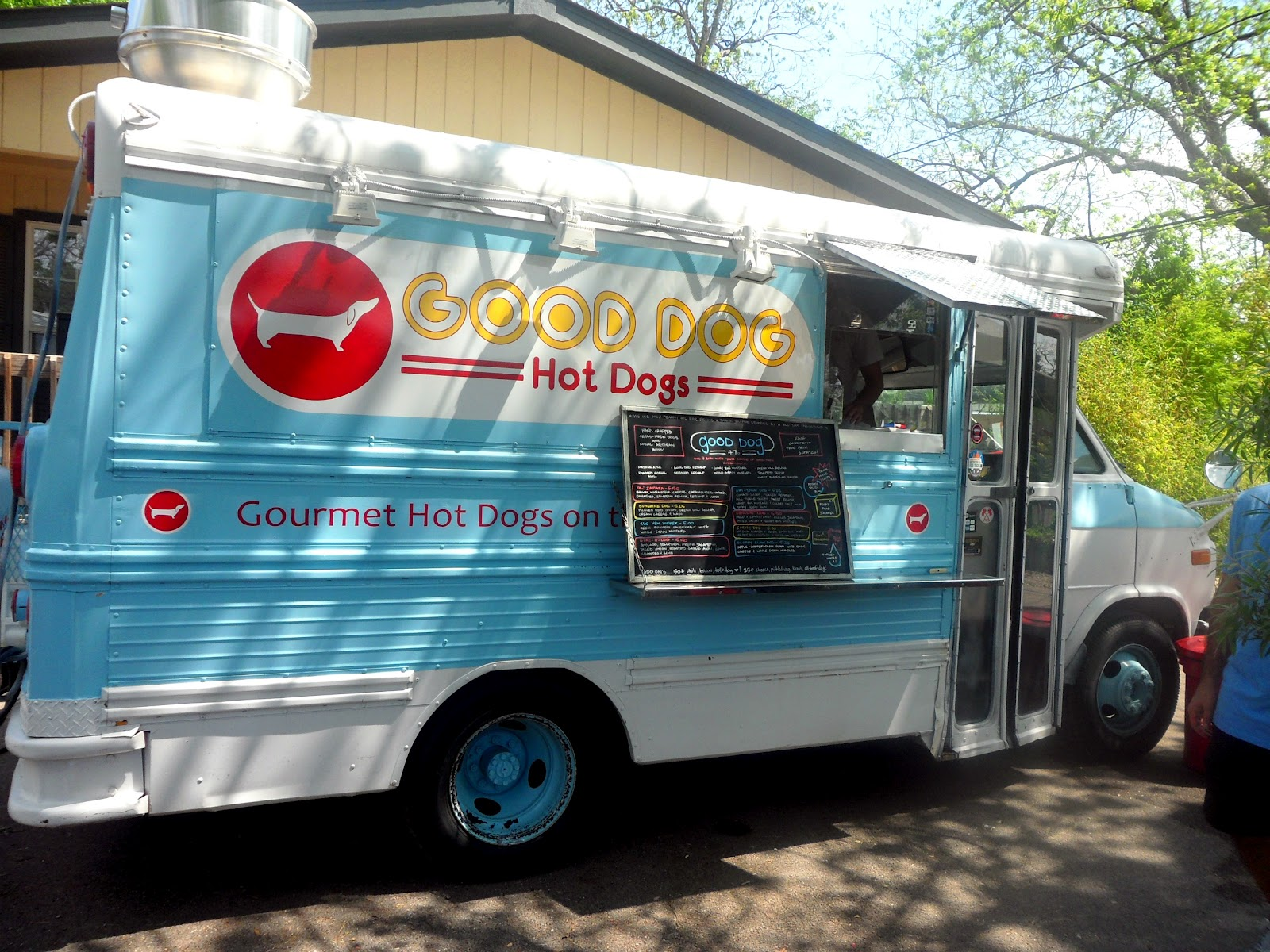Hot Dog Food Truck Houston