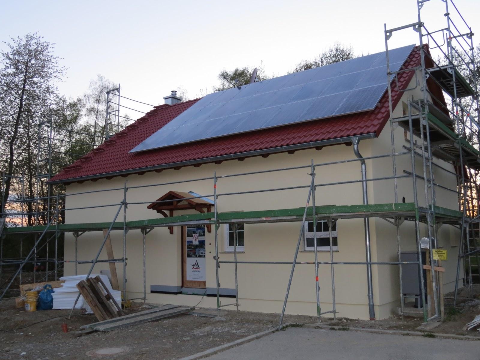 Wir bauen mit keitel haus in markt buchbach tag 40 es for Haus bauen firmen