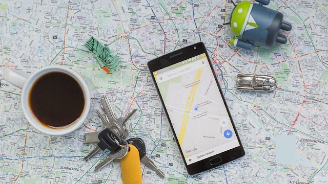 Android GPS maps